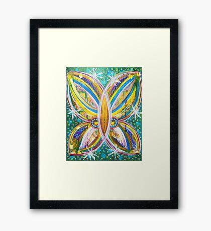 Details of Transformation: Inner Power Painting Framed Print