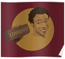 Community Whitens your Teeth Poster