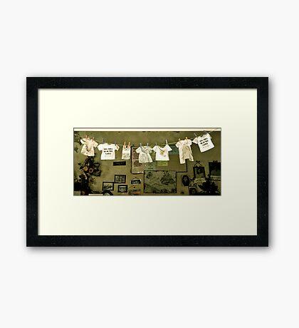 Chiquitita Framed Print