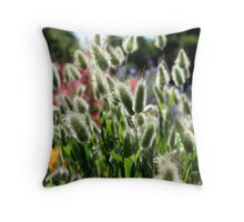 Hare's tails Throw Pillow