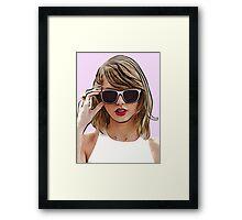 Taylor Swift 1989 Framed Print