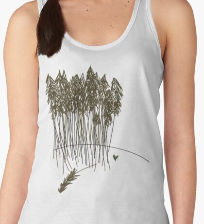 you'll find me in the forest Women's Tank Top