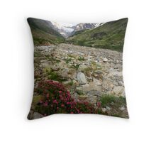 Flowers of High Altitudes Throw Pillow