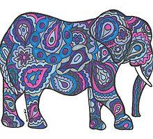 Elephant 2 by shanaabird