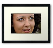 Lisa 2 Framed Print
