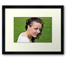Lisa 3 Framed Print