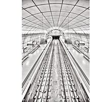 Metro of Bilbao (Spain) Photographic Print