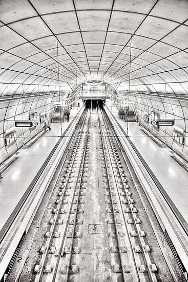 Metro of Bilbao (Spain) by Angel Benavides