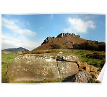 Big Rock at the Roaches Poster