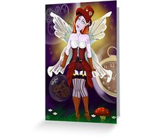 Punked Fairy Greeting Card