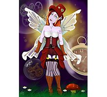 Punked Fairy Photographic Print