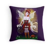 Punked Fairy Throw Pillow