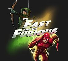 The Fast and the Furious by juanotron