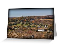 Moorestown Autumn Greeting Card