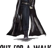 "Buffy The Vampire Slayer - Spike ""Out for a walk b#tch"" by natskilou"