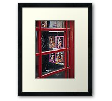 Sexy telephone Framed Print