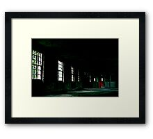 West Park - Red Door Framed Print