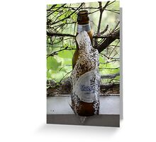 Can you say, ICE COLD BEER? Greeting Card