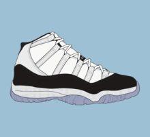 "Air Jordan XI (11) ""Concord"" One Piece - Short Sleeve"