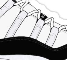 "Air Jordan XI (11) ""Concord"" Sticker"