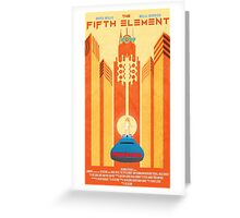Fifth Element Poster Greeting Card