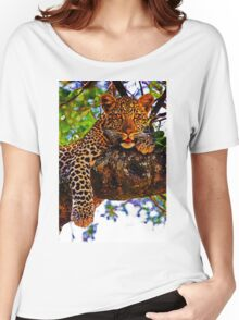 Relaxed Leopard Women's Relaxed Fit T-Shirt