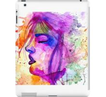 Psychedelic Face iPad Case/Skin