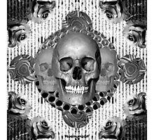 dark skull Photographic Print