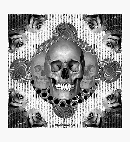dark skull Photographic Print