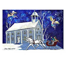 Lancaster Sleigh Ride Photographic Print