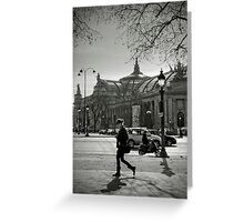 Champs Elysées Greeting Card