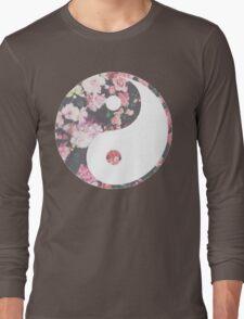 Hipster Yin Yang Long Sleeve T-Shirt
