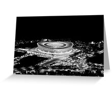 Stadium Alight Greeting Card