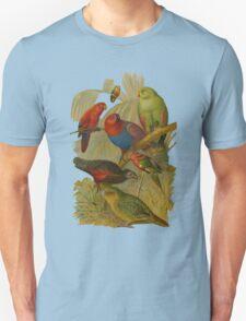 Parrots. [after rudolph becker] T-Shirt