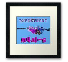 M4A1-S Hyperbeast Framed Print