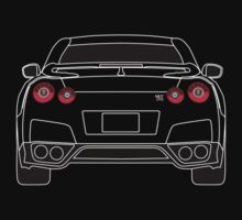 Nissan GTR R35 White by AutomotiveArt