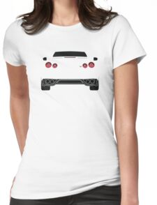 Nissan GTR R35 White Womens Fitted T-Shirt