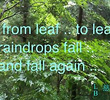 rainy season haiku poem by Ljikob