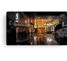 Pub in Canada Canvas Print