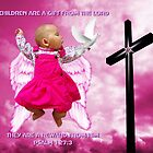 CHILDREN ARE A GIFT FROM THE LORD..ANGELIC BABY RIVEN WITH DOVE AND CROSS..PILLOW -TOTE BAG- PICTURE..ECT by ✿✿ Bonita ✿✿ ђєℓℓσ