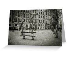 Place Dauphine Greeting Card