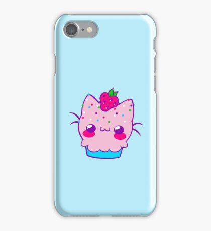 Kawaii Cupcake Kitty iPhone Case/Skin