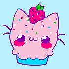 Kawaii Cupcake Kitty by Shonuff  Studio