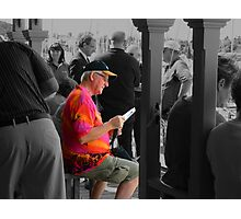 The Reader. Photographic Print