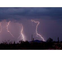 Sonoran Storm Photographic Print