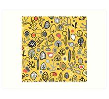 Fab fifties abstract design  Art Print
