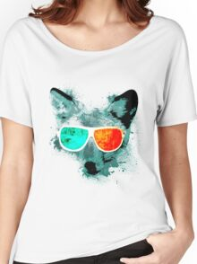 3D Fox Vision Women's Relaxed Fit T-Shirt