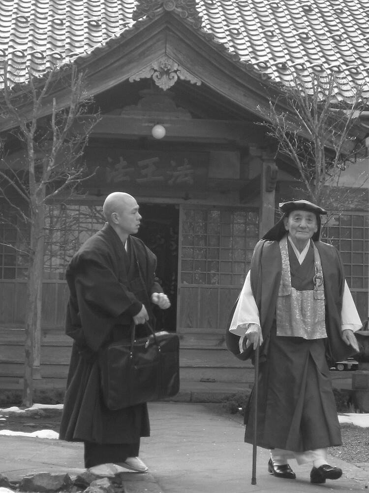 a zen master by Ljikob