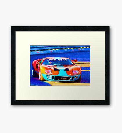 DRB GT40 Framed Print