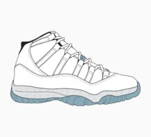 "Air Jordan XI (11) ""Legend Blue"" One Piece - Short Sleeve"
